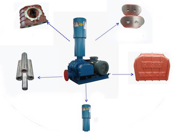 Roots Blower Components