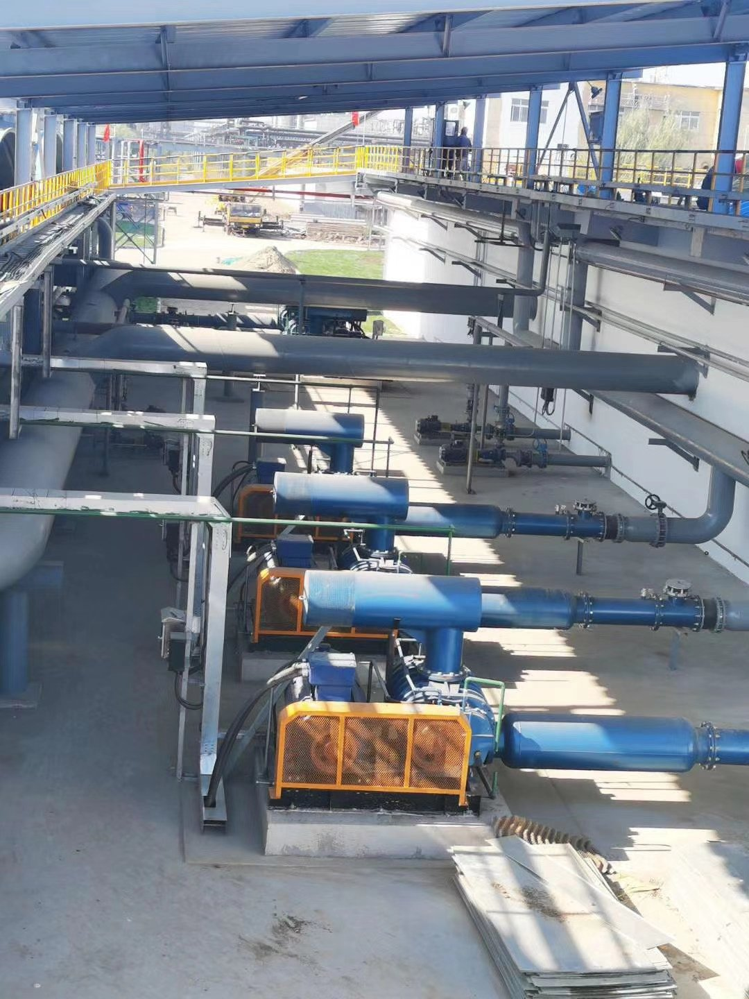 Roots Blower For Bangladesh Cement Plant